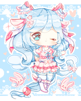 Winged Neko Adoptable AUCTION (CLOSED) by bunbby