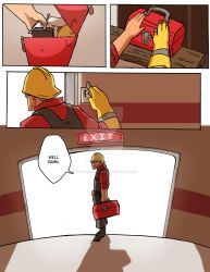 TF2: Be Efficient Be Polite 74 by spacerocketbunny