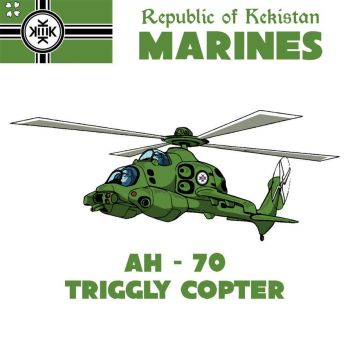 AH-70 TRIGGLY COPTER by paradigm-shifting