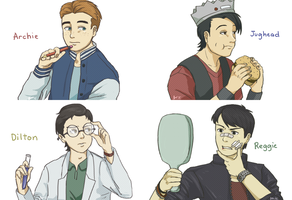 Some Riverdale boys by yunote