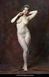 Stock:  Jessie June full length nude by ArtReferenceSource