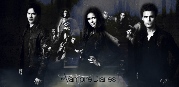 The Vampire Diaries || Season 4 Header by Muffiinkeks