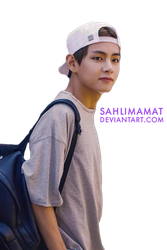 BTS - V PNG by sahlimamat