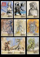 Harryhausen collection part 2 by cowpatface