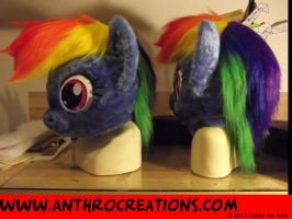 Rainbow Pony Horse FIN by AtalontheDeer