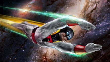 Space Ghost by uncannyknack