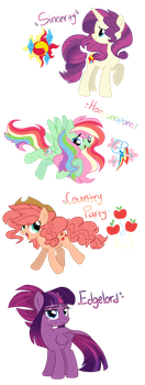 My Little Fusions by VovanPetuh