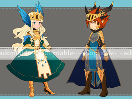 Knights Auction [CLOSED] by aketan-adopts