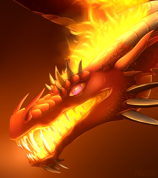 COM - Fire stuck in your teeth? by Panoptos