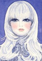 China Doll ACEO by nellmckellar