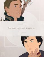 Sherlock Dragon Age AU by azureverie
