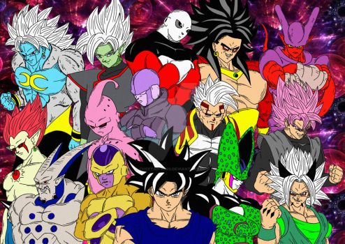 Because Dragon Ball is the best thing by Cheetah-King
