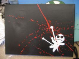 voodoo canvas by paintisthenewdope
