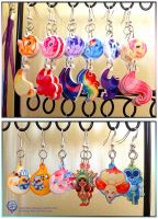 MLP - Pokemon - Adventure Time Earrings