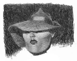 GIRL WITH HAT by sebastianmartino