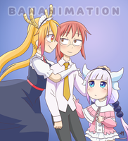 Miss Kobayashi's Dragon Maid by BananimationOfficial
