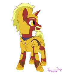 Armored Commander Firebrand by TheDreamSage