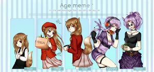 [Z] Age Meme - Heather by NyuSho