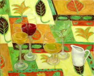 Drinking glasses by wiewiorka