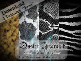 Animal Grunge TEXTURES by DusterAmaranth