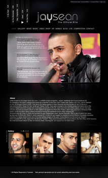 jay sean website V1 by yanirsch