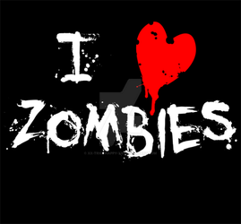 i :heart: zombies by xx-trigrhappy-xx