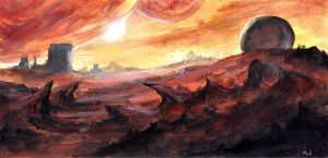 Red Planet by noahbradley