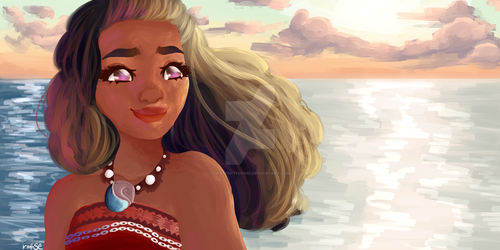 Moana by iwasp0nthiswei