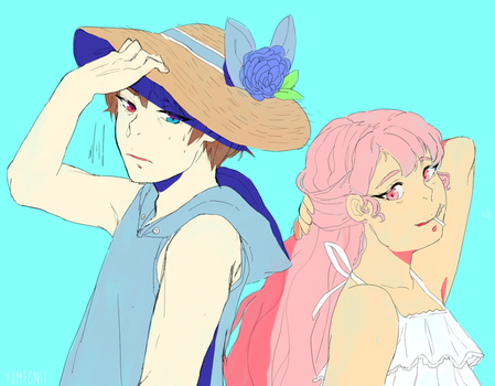 I made the hat myself by YumeOnii