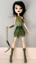 Custom Ashi doll by MelancholyBluebell