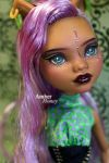 Clawdeen repaint finished by Amber-Honey