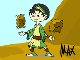 Phoebe the Earthbender by megawackymax