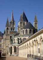 Caen - the Cathedral by UdoChristmann