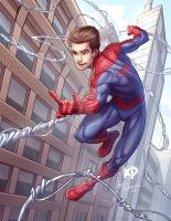 Andrew Garfield as Spider-Man by kpetchock