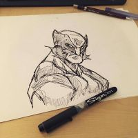 wolverine sketch by Anny-D