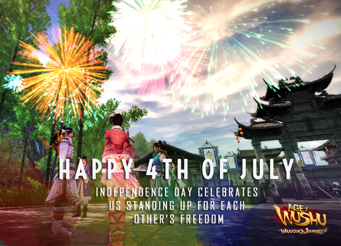 Independence Day Age of Wushu July 2015 by mooncole