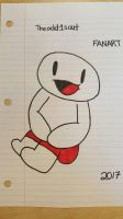 FANART for Theodd1sout  by xXPixelatedARTSXx
