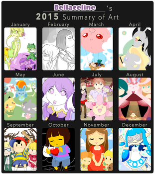 Bellaceline's Summary Art 2015 by Bellaceline122