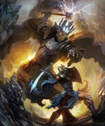 Fingolfin challenges Morgoth by mehmetcy