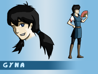 Character Concept: Gyna by YagoTheFrood