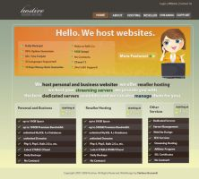 Hosting Template - Exercise by dnadna