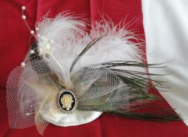 Tiny Tophats for The Bide and Her Bridesmaids by Sparkling-Sky