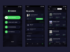 Redesign for parkio.eu by jozef89