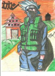 Hatake Kakashi by Sailorayame19-2