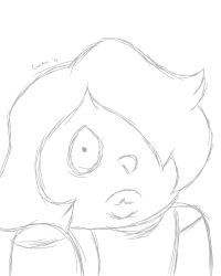 80s amethyst quick sketch by ohverwhelming