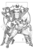 Uncanny X-Force by Thegerjoos