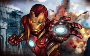 Iron Man! by ZazzyCreates