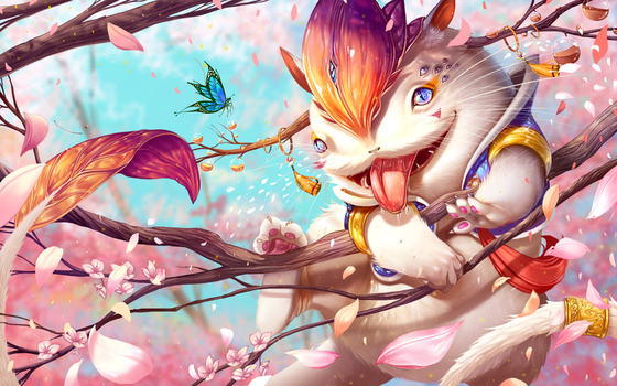 Blossom creature by Bunny-spirits