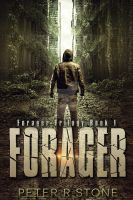 Dystopian ebook cover: Forager by Dafeenah