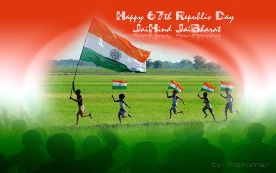 Happy 67th Republic Day by mskumar